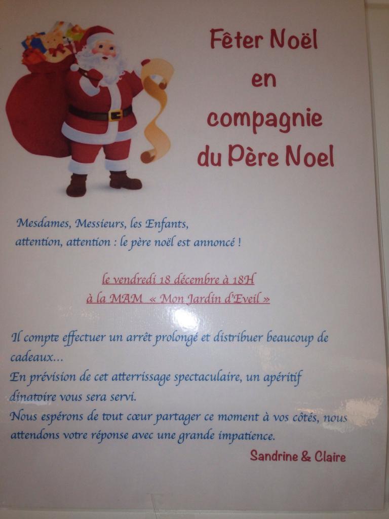initation du père Noel